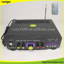 Kentiger Brand Home amplifier AC220V AC110V car amplifer DC12V 5A