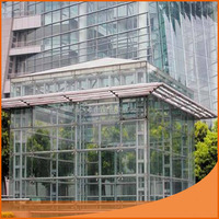 Best sale 4mm high quality temperer glass for building with best price