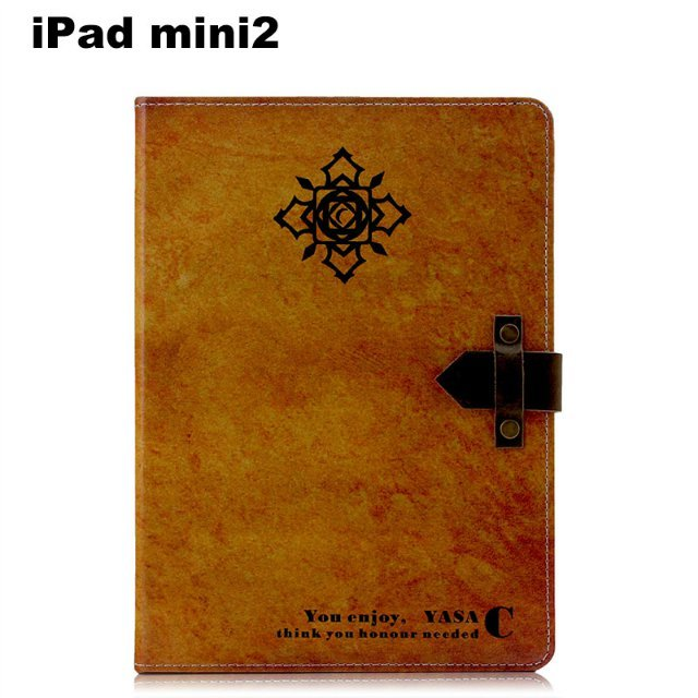 FL388 retro Steampunk folio case Book Stand cover for ipad mini2