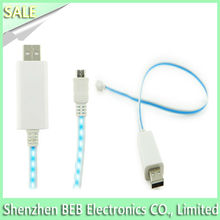 Best selling el lighted usb cable from China's gold manufacture
