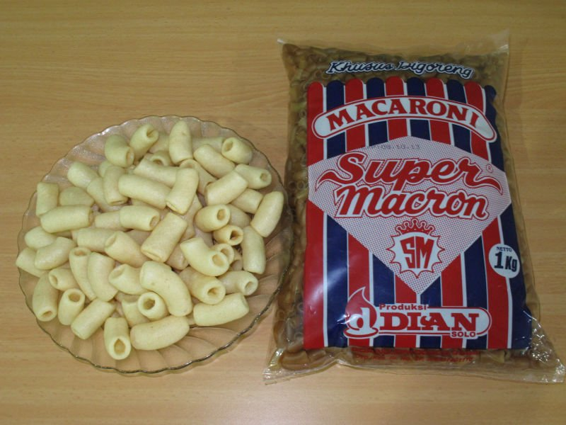 Macaroni Super Macron pellet (for snack)