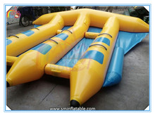 Factory price inflatable water sport fly fish,inflatable flying fish towable,inflatable flying fish tube banana boat for sale