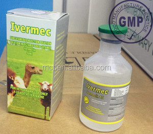 veterinary medicine ivermectin 1% Injection 50mlm100ml animal antiparasitie drug