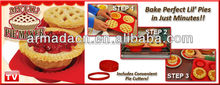 TV Hot Selling Food Grade Bakeware& Silicone My Lil Pie Maker