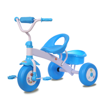 Children 3 Wheels Sport Bike Kids tricycle with rear basket
