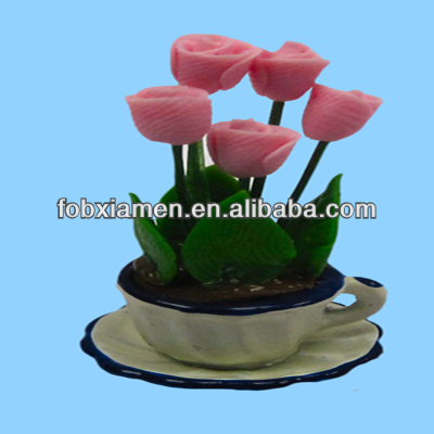 Cheap Decorative Man-Made Miniature Artifical Flower
