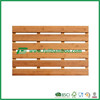 FB7-4005 Stock bathroom solid bamboo shower mat made in China