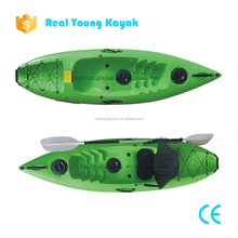 Single Seat Kayak Fishing Cheap Fiberglass Canoe Paddle Boats