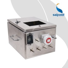 SAIP/SAIPWELL New waterproof industrial Outlet box,stainless steel outlet box