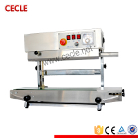 portable continuous pouch sealing machine