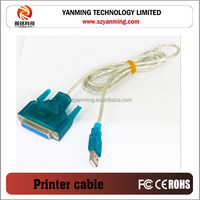 USB to 25Pin DB25 Parallel Cable/Adapter for Computer Printer