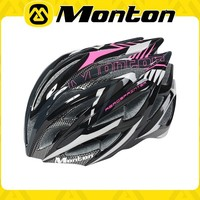 2015 MONTON pink color Hot sale Mountain bike helmet