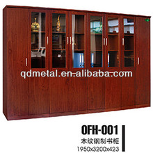 office furniture Wooden Filing Cabinets, Liborary Book Shelf with glass doors