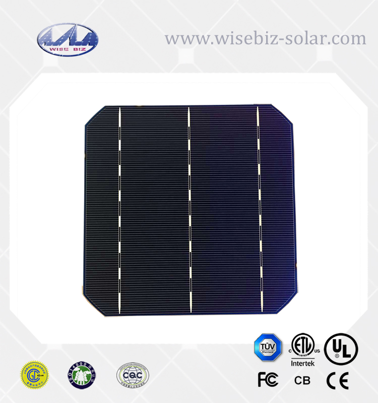 156x156 cheap price high efficiency photovoltaic mono solar cell