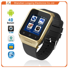 2015 New arrived! Latest android system 3G wifi smart watch phone