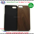 2016 New and Natural bamboo wood case for iphone 7 IPC368