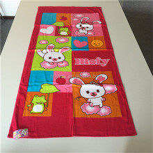 Wholesale 100 percent cotton beach towel with high quality