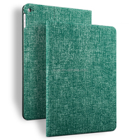 eco-friendly custom flip leather case for ipad smart cover , case for ipad