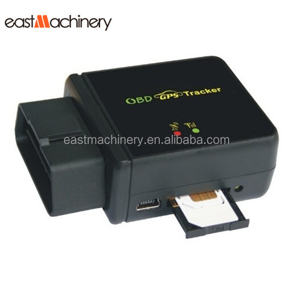 Free Tracking Software Mini GPS Tracker OBD II Programmable GPS Tracker With Diagnostic Function
