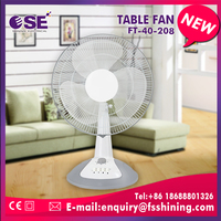 16 inch low noise table fan with long service life