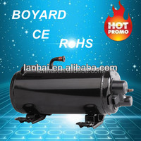 R407C HVAC horizontal type roof mounted window air conditioner compressor for camper van
