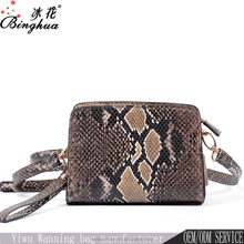 Online shop China women embossed leather taobao cheap crossbody bag