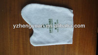 economy hotel disposable shoe shine cloth with 100% cotton