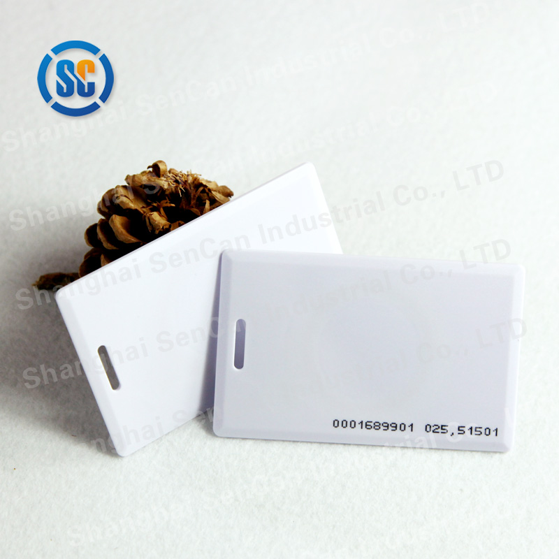 High Range Customized transparent ic cheap blank pvc magnetic memory card