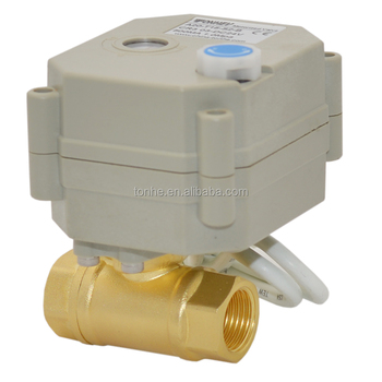OEM DN10 3/8'' 2Ways electric water control valve flow control valve