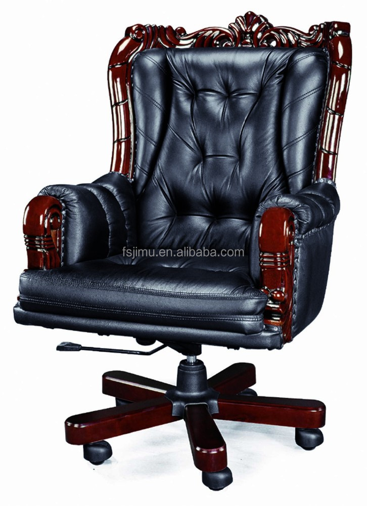 retro empire leather chairs/ king chairs