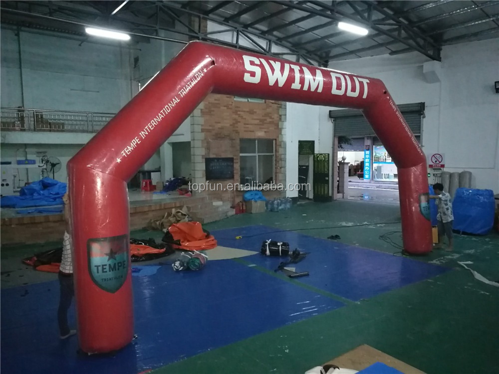 Racing Inflatable Swim Out Arch