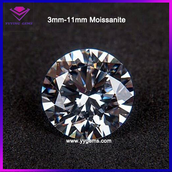 Colvard Wholesale Moissanite Forever Brilliant Cut 3mm to 13mm White Loose Moissanite For New Year Gift