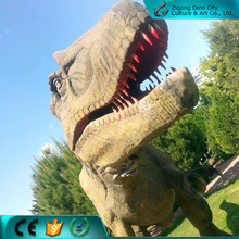 Theme park animatronic life size dinosaur statues for sale