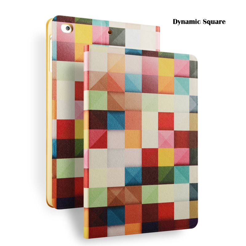 wholesale front case back cover for iPad Air PU leather case, for ipad iPad Air 1/2 cover
