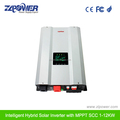 Intelligent power inverter 1000w with battery&solar charger