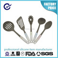 Easy To Clean High Quality Kitchen Silicone Cooking Utensil Set