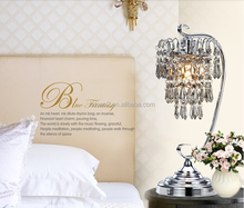 home decorative modern crystal chandelier table lamp