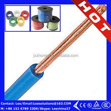 copper Wire PVC Compound Insulated 10AWG 12AWG 14AWG 8AWG 6AWG TW THW Wire
