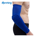 Factory price sales Sponge Honeycomb elbow brace compression support sleeve