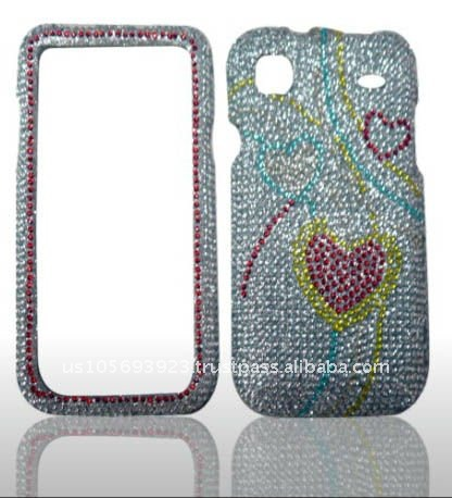 brand new Crystal Bling Snap on Faceplate Cover Case for Samsung Galaxy S 4G/T959