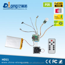 1080P extreme long standby PIR mini camera module HD-11