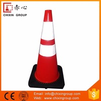 Latest Design 70Cm Pvc Traffic Cones