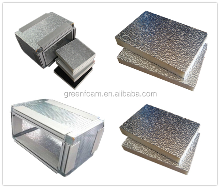 PU foam aluminum foils pre-insulated air ducts