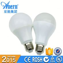 Low power consumption Milky cover 8w e27 led lamp bulb rechargeable