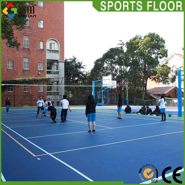 Quality guarantee outdoor volleyball court floor mat