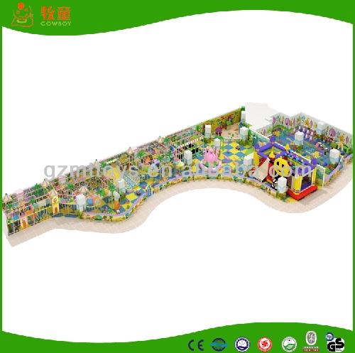 Kid Maze Toy Game Indoor Naughty Castle, Jumping Castle for Baby