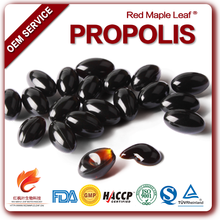 Health Supplements Water Soluble Bee Propolis Softgel Capsules