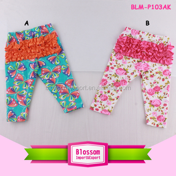 Hottest Baby Icing Ruffle Pants Girls Icing Leggings Triple Ruffles Pants