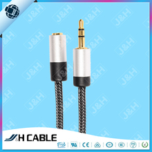 Spiral Cable 3.5mm Male to RCA Female Plug Spring Aux Cable