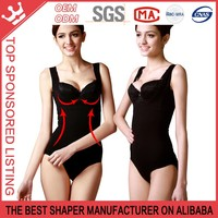 QUALITY Slim Tummy Seamless Open-Bust Bodysuit Shaperwear Y75